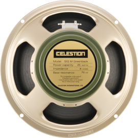 CELESTION CLASSIC G12M GREENBACK / 8 OHM