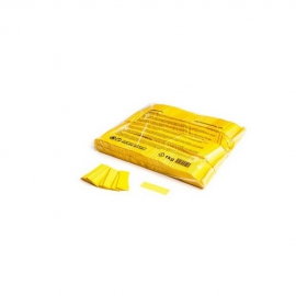 UE PREMIUM CONFETTI PAPER RECTANGLE YELLOW 55x17mm
