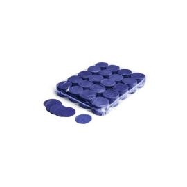 UE PREMIUM CONFETTI PAPER ROUND BLUE 55mm