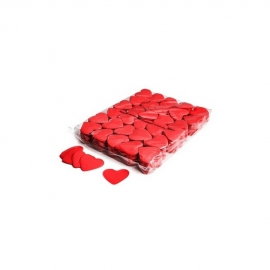 UE PREMIUM CONFETTI PAPER HEART RED 55mm