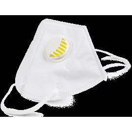 FFP2 s ventilkem respirátor / 5 ks