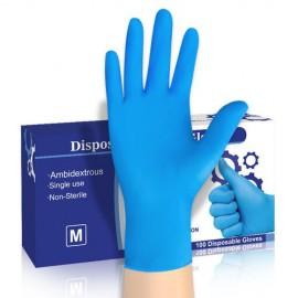 Nitrilové rukavice M / 100 ks
