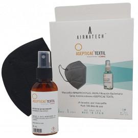 AIRNATECH FFP2 ANTI-COVID / 10 ks - bílá