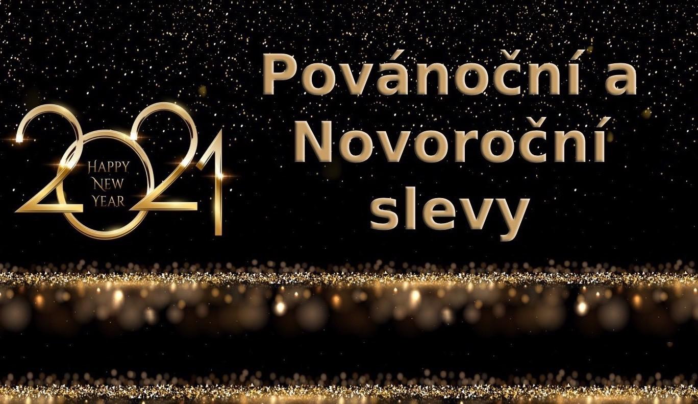 Povánoční a Novoroční slevy